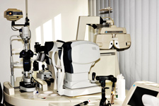 Equipments of the Ophthalmology practice in Ajaccio